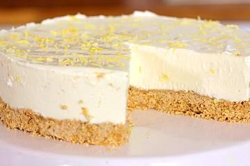 No Bake Lemon Cheesecake
