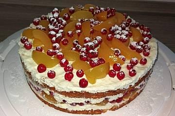 Aprikosen-Marzipan-Torte