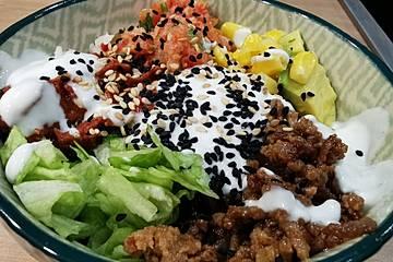 Burrito Bowl mit Rinderhack