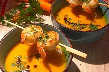 """Kürbissuppe """"Thai Curry"""""""