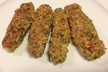 Brokkoli-Kroketten aus dem Backofen