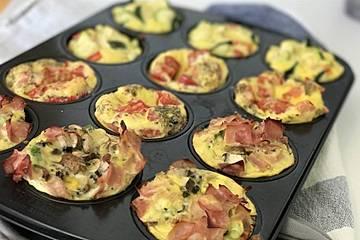 Gemüse-Eier-Muffins