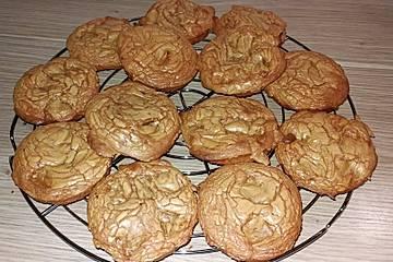 Nougat-Cookies