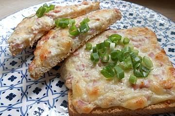 Flammkuchen-Toast