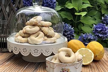 Italienische Zitronenringe