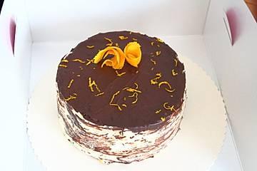 Orangen-Schokoladentorte