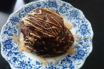 Schnelle Schokoladen-Pancakes