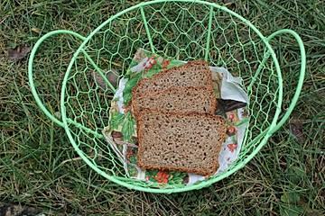 Kamut-Dinkel-Frischkäse-Brot