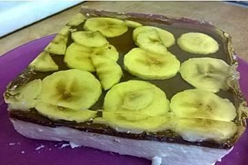 Kefir-Bananen-Magic-Pudding