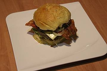 Mein perfekter Burger in 100% Handarbeit