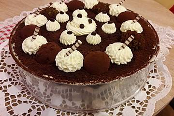 Tiramisu Eierlikör-Torte
