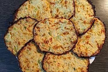 Blumenkohl-Zucchini-Puffer
