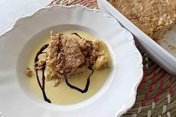 Milchreis-Auflauf Nuss-Nutella-Apfel