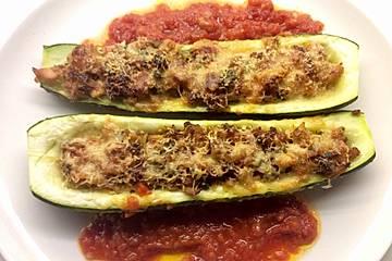 Rezept fur zucchini mit thunfisch