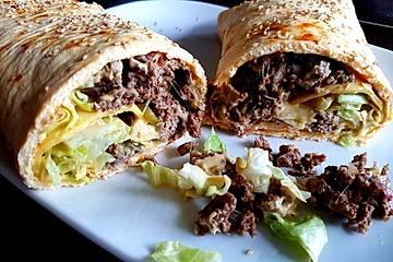 Low-Carb Big Mac-Rolle