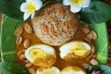 Telur Balado Saus Sambal Belacan