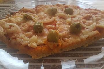 Low Carb Pizzaboden