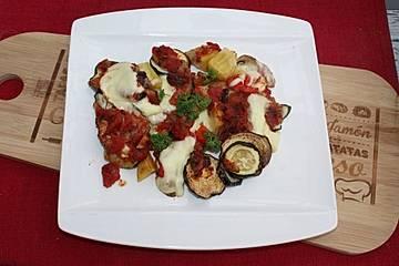 Rezept aubergine zucchini griechisch