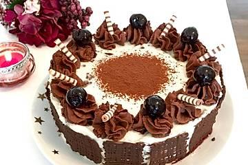 Bananen-Schokoladen-Torte