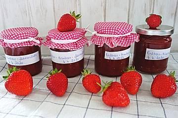 Erdbeer-Himbeer-Marmelade