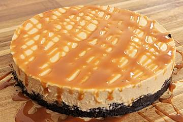 No bake-Dulce de leche Cheesecake