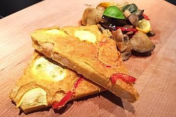 Farinata - der italienische Pfannkuchen