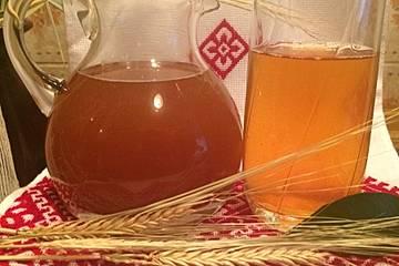 Kwas - ein prickelndes, erfrischendes Getränk für die heißen Sommertage