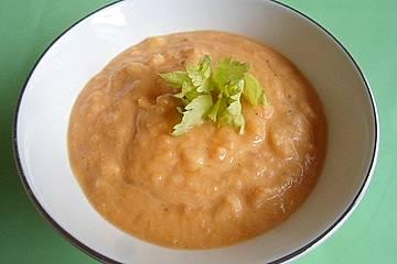 Sellerie-Süßkartoffelsuppe