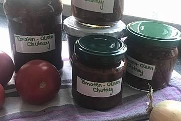 Tomaten-Oliven-Chutney