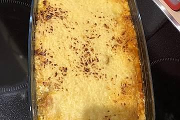 Gyros mit Käse überbacken