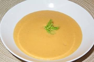 Fenchel-Süßkartoffel-Cremesuppe