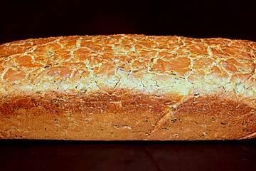 Roggenmischbrot mit Kichererbsenmehl