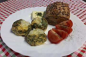 Rührei in der Muffinform