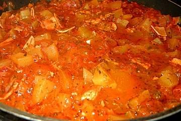 Zucchini-Tomaten-Topf