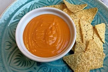 Vegane Chili-Cheese-Sauce