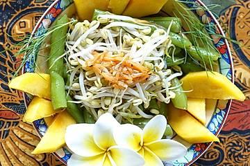 Bohnensalat mit Mango