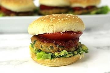 Mini-Falafel-Burger