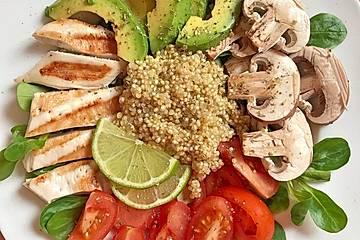 Power Bowl mit Quinoa