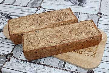Gersten-Weizen-Dinkel-Vollkorn-Sauerteigbrot mit Kürbiskernen und Dickmilch