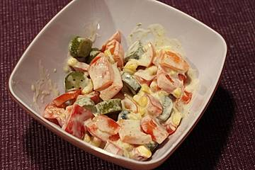Mais-Paprika-Salat
