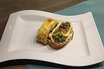 Low Carb Lauch-Hack-Rolle