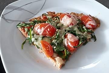 Thunfischboden-Pizza