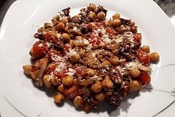 Kichererbsen-Tomaten-Pfanne