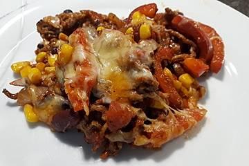 Chili con Carne-Auflauf
