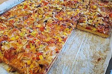 Low Carb Pizzateig
