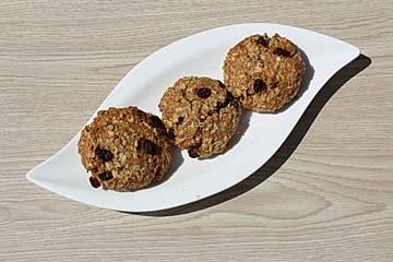 Haferflockenkekse - Rosinenplätzchen - Haferflockencookies