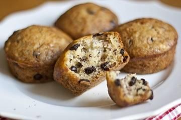 Bananen-Schokodrops-Muffins