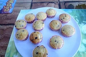 Gefüllte Schokodrop-Muffins