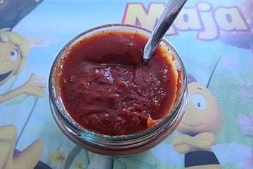 Grundrezept für Paprikasoße oder auch: Rote Nudelsoße ohne Tomaten