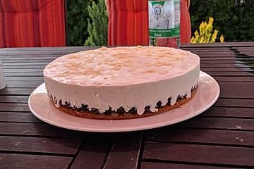 Joghurt-Sahne Torte nach Familie Burghaus